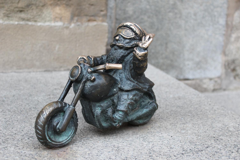 figurka krasnala Wrocław