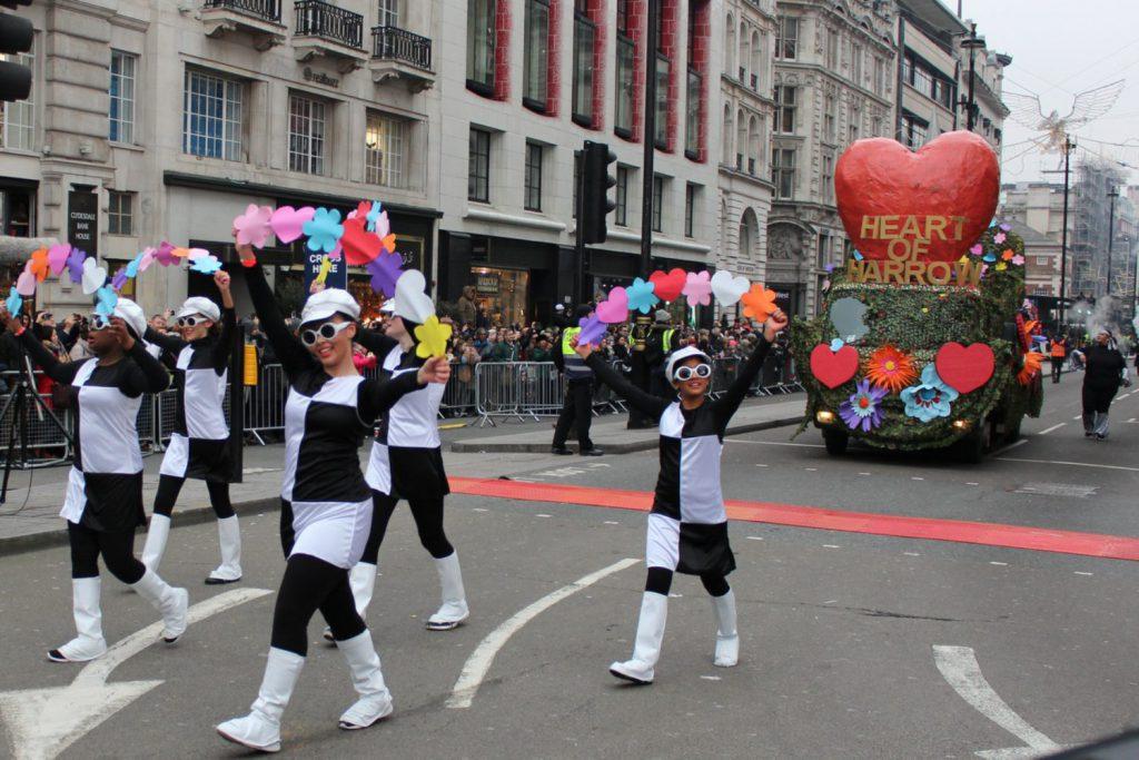 Heart of Harrow Londyn - parada noworoczna 2020