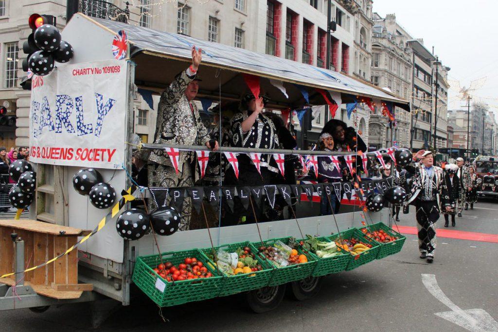 Londyn - parada noworoczna 2020