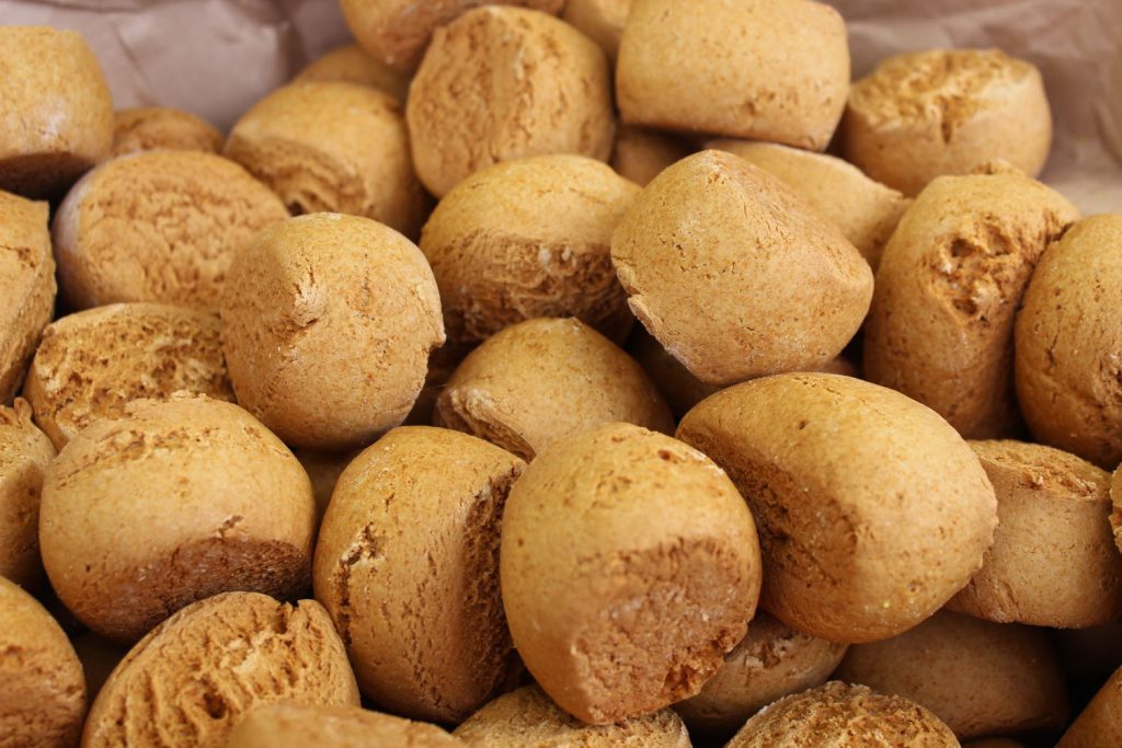 Irlandia - ciasteczka imbiroowe